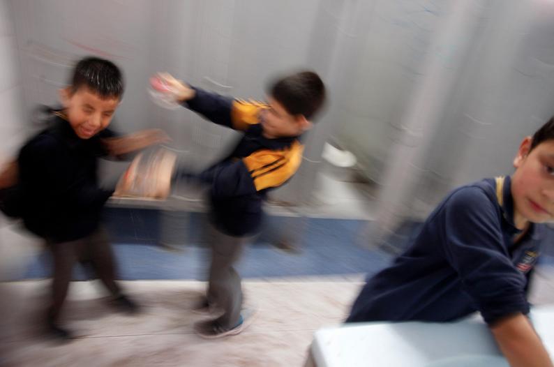 El 33% de los escolares de 2° medio ha sufrido agresiones de sus compañeros