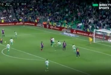Increíble: el golazo de Messi ante el Betis pasará a la historia