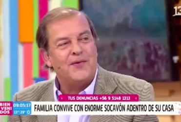 Francisco Vidal generó preocupación por su estado de salud en el Bienvenidos