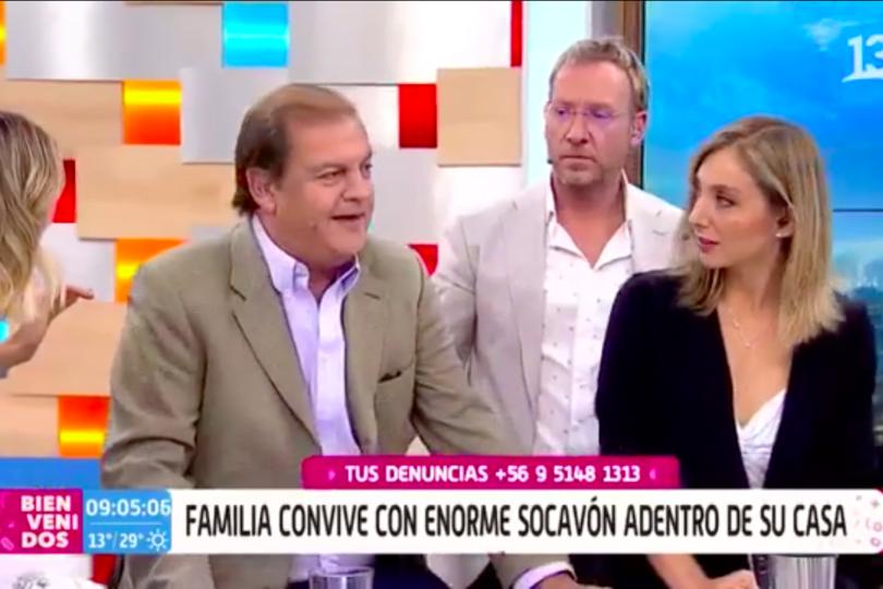 """VIDEO  Ex ministro Francisco Vidal acusa problemas de salud en pleno Bienvenidos: """"Si me pasa algo, me ayudan"""""""
