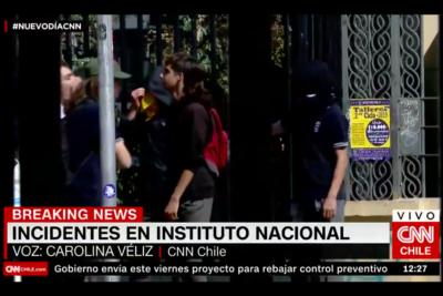VIDEOS |Incidentes se registran en el Instituto Nacional en medio de votación para definir si será mixto