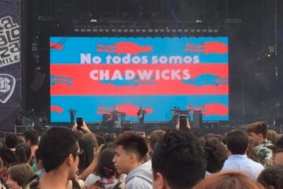 """""""No todos somos Chadwicks"""": las inesperadas y aplaudidas consignas políticas en Lollapalooza"""