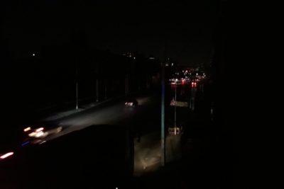 Masivo corte de suministro eléctrico en Santiago, Recoleta e Independencia