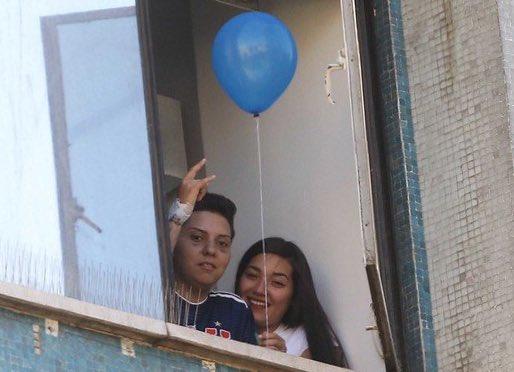 Carolina Torres fue dada de alta tras dos semanas hospitalizada