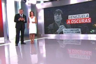CNTV acumula más de 75 denuncias contra Teletrece por imagen de Bachelet en nota sobre apagón en Venezuela