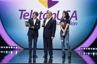 VIDEO |Teletón USA homenajea a Mario Kreutzberger por sus 40 años de trabajo en la institución