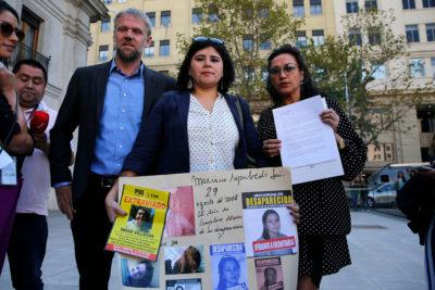 Diputados piden al gobierno suma urgencia para el proyecto de Ley Extraviados