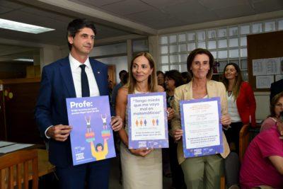 """Ministra Cubillos lanza campaña """"Educación Libre de Sexismo"""""""