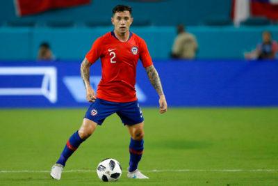 """Eugenio Mena: """"Me encantaría jugar la Copa América, pero va a depender de mi rendimiento"""""""