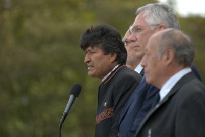 """Evo Morales comparó a Juan Guaidó con un """"virrey colonial"""""""