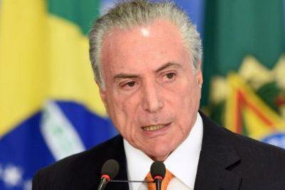 Justicia de Brasil ordenó la liberación del ex presidente Michel Temer