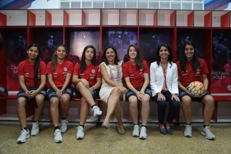 La Roja Femenina ya cuenta con camarín propio en el Estadio Nacional