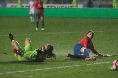 La Roja femenina perdió con Jamaica y preocupa de cara al Mundial