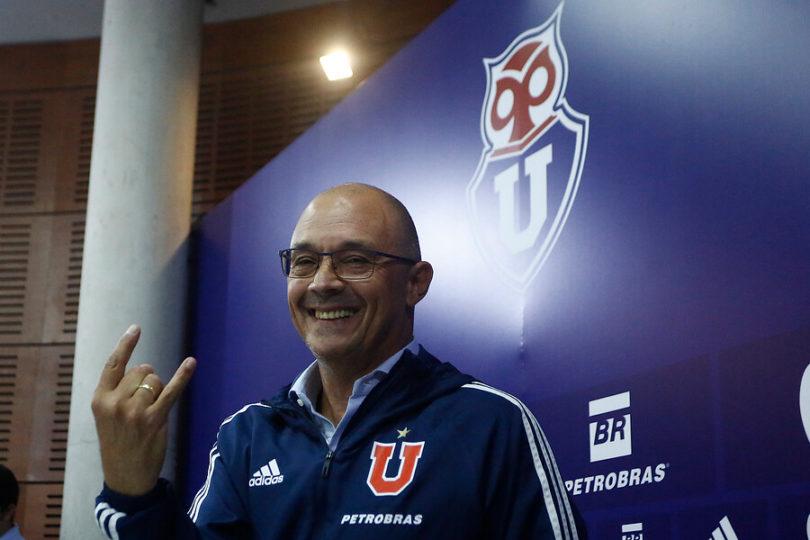 """Alfredo Arias en su presentación en la U: """"No me siento involucrado en una polémica por Kudelka"""""""