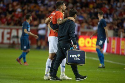 Maripán estará al menos 2 semanas fuera en Alavés por lesión sufrida en la Roja