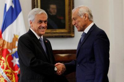 Piñera inició reuniones con líderes de oposición: Heraldo Muñoz fue el primero