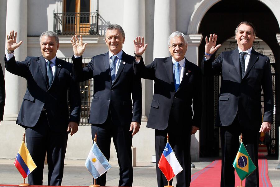 """""""Piñera por Prosur:"""