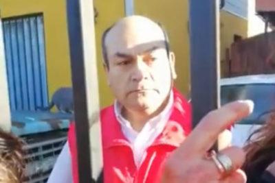 Funado en todo Chile y ahora sin trabajo: Santa Isabel separa a funcionario tras viralizarse brutal video de agresión a su pareja
