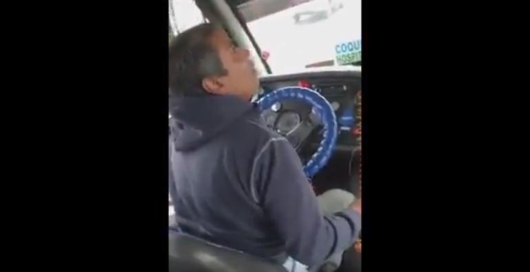VIDEO |Estudiante grabó el mal trató que recibió por parte de un chofer por el uso del pase escolar