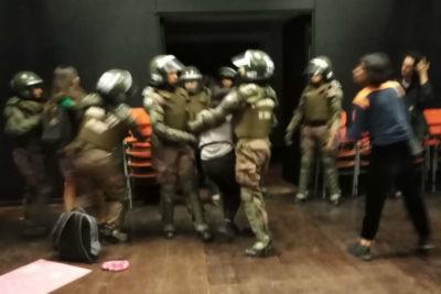 VIDEO  Desalojaron el Campus Oriente de la UC por petición del rector: 57 detenidos