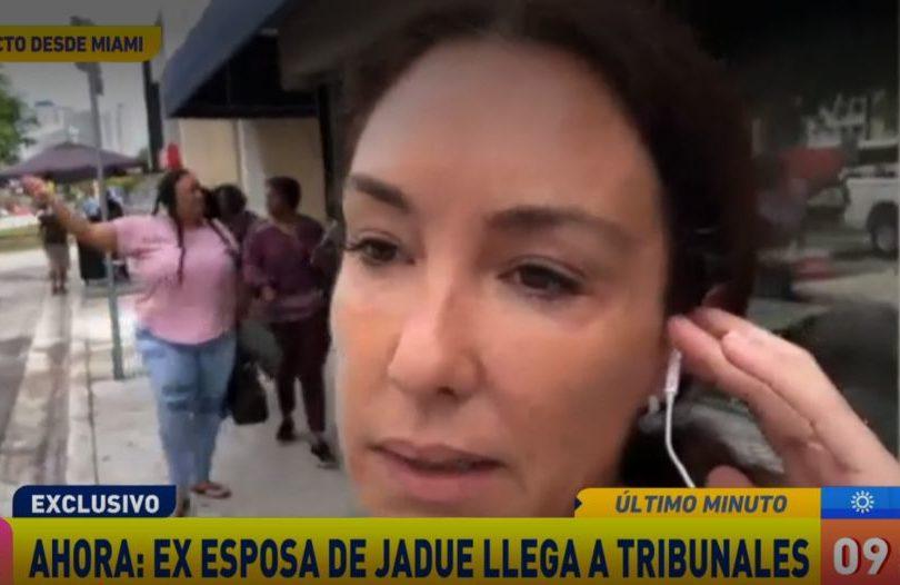 """Esposa de Sergio Jadue y los dichos de su hijo: """"Él también es muy machista"""""""