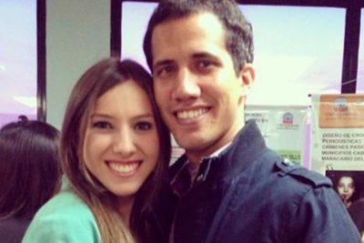 """Fabiana Rosales, esposa de Juan Guaidó: """"Tengo mucho que agradecerle al Presidente Piñera"""""""