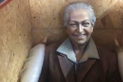 Gabriela Mistral, Pablo Neruda y Nicanor Parra: las nuevas estatuas de poetas que acompañarán las calles de La Florida