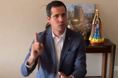 Juan Guaidó anunció el ingreso de ayuda humanitaria a Venezuela en los próximos días