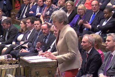 Parlamento británico rechazó por tercera vez el acuerdo del brexit