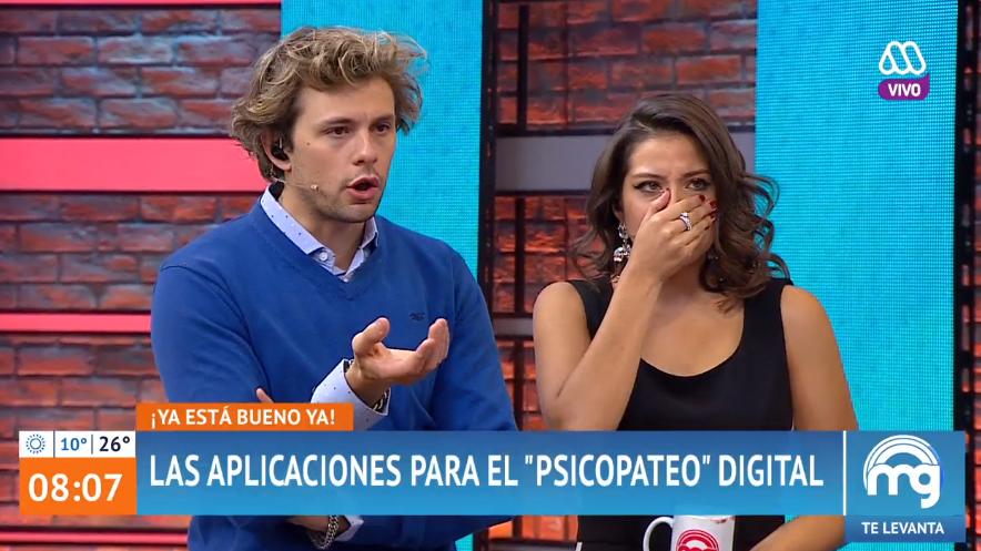 """""""Avalancha de críticas al matinal Mucho Gusto por incentivar aplicaciones para"""