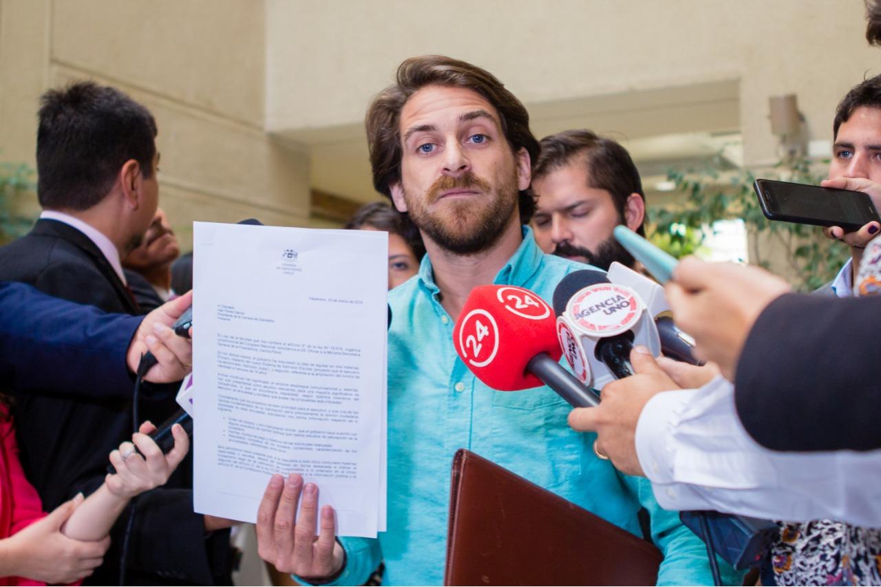 """""""Ofician al Gobierno para pedir resultados de encuestas internas"""""""