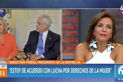 """""""¿Cuándo es el día del hombre?"""": la pregunta de Piñera a horas del 8M que Cecilia Morel le respondió en pleno Mucho Gusto"""