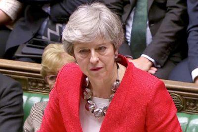 Theresa May pidió una prórroga para el brexit hasta el 30 de junio