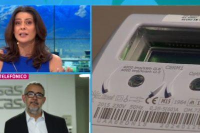"""""""¿Por qué tenemos que pagar?"""": el momento en que Tonka Tomicic pone en aprietos a director de empresas eléctricas por medidores inteligentes"""