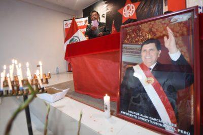 Perú decreta tres días de duelo por muerte de Alan García