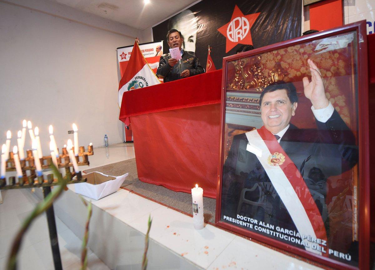 """""""Perú decreta tres días de duelo por muerte de Alan García"""""""