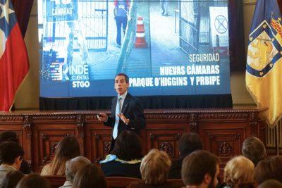 Alcalde Alessandri destacó proyecto Aula Segura durante su cuenta pública
