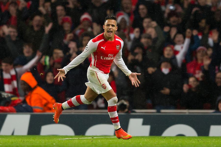Alexis Sánchez figura en el top 10 de mejores jugadores del Arsenal de la era Premier Legue