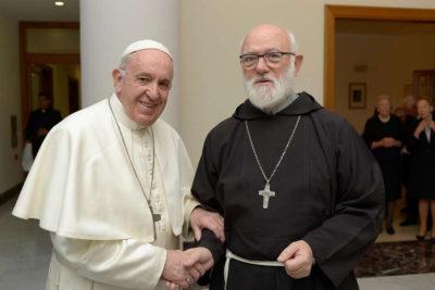 Intensa jornada de Aós con papa Francisco, Scicluna y obispos que indagan abusos