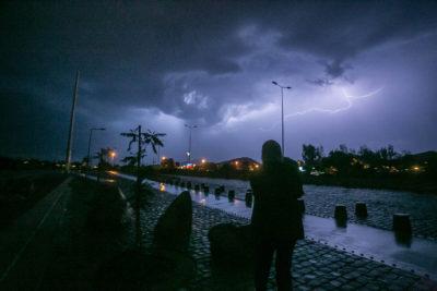 Meteorología emite aviso de tormentas eléctricas entre Coquimbo y O'Higgins