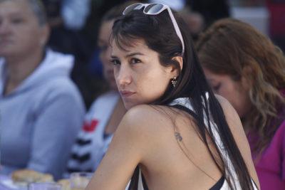 Las palabras de Loreto Aravena inmediatamente después de salir de la audiencia de formalización de Nicolás López