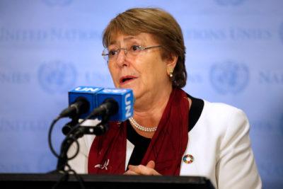 """Bachelet por los atentados en Sri Lanka: """"No se debe permitir que los que intentan fomentar el odio tengan éxito"""""""