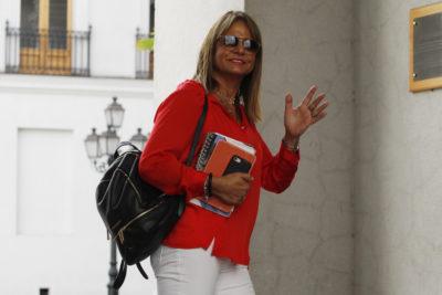 """Jacqueline Van Rysselberghe a la Fiscalía por correos de Asipes: """"Coincidían con lo que yo pensaba"""""""