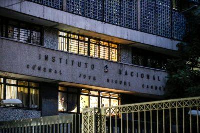 """Estudiantes se tomaron el Instituto Nacional en rechazo a """"Aula Segura"""""""