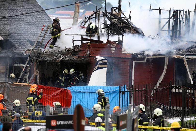 Intendencia confirma identidad de víctimas tras caída de avión en Puerto Montt