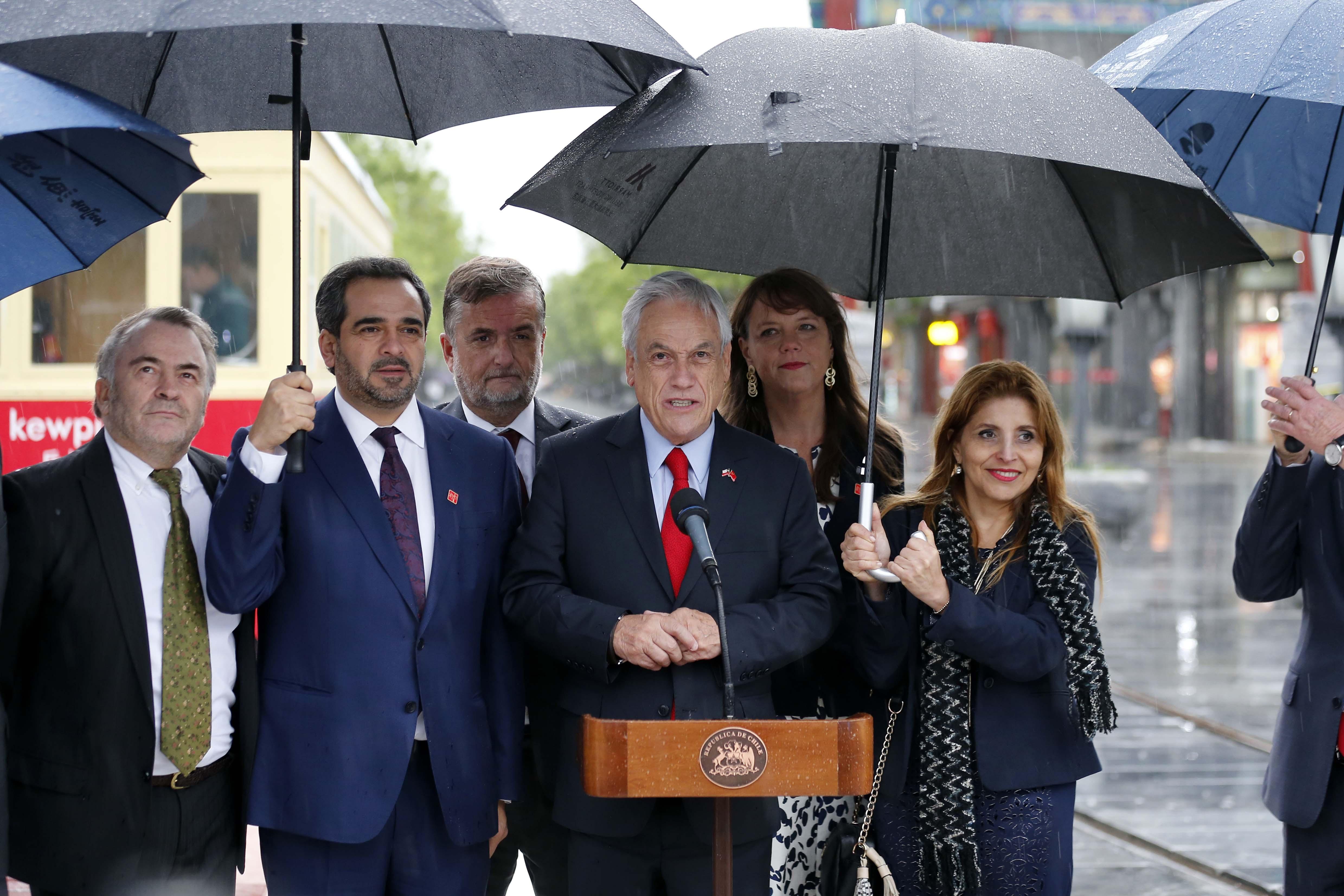 """""""Firmamos acuerdos muy importantes para la calidad de vida de los chilenos"""""""