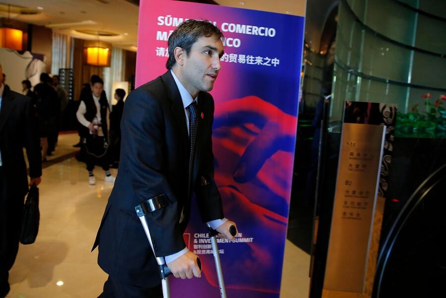 """""""La Moneda y presencia de hijos de Piñera en gira a China:"""