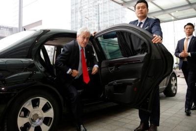"""""""Están castigados por culpa del senador Quintana"""": la broma de Piñera por las críticas al viaje de sus hijos a Asia"""