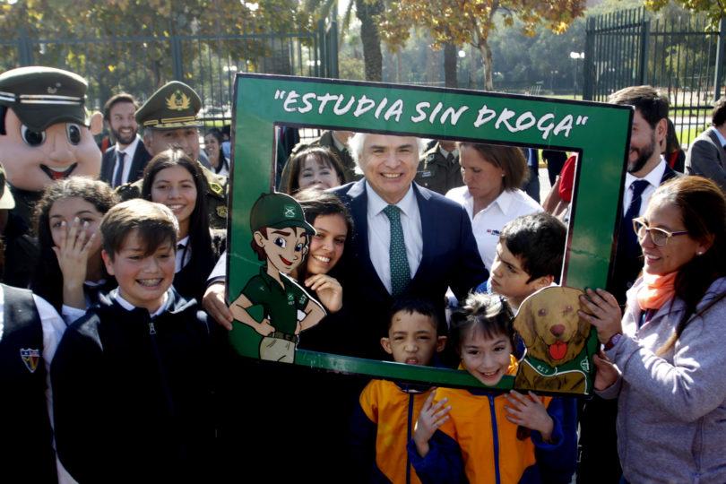"""Gobierno lanza segunda etapa del Plan """"Estudia sin drogas"""""""