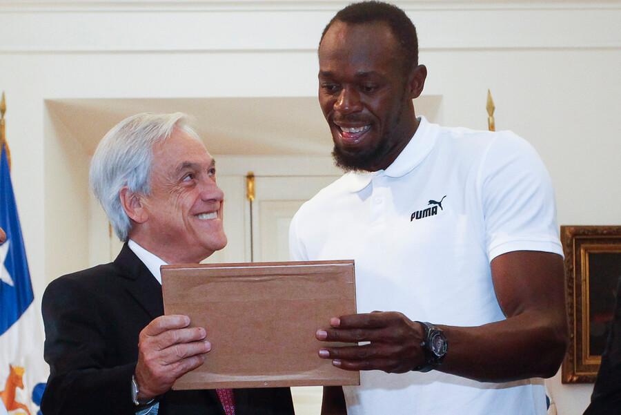 """""""Usain Bolt respondió en Twitter al meme que le mostró Piñera en La Moneda"""""""